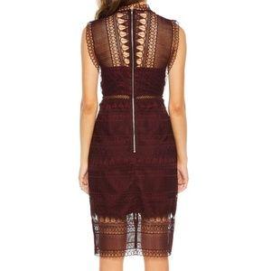 Bardot Marina Lace Body-Con Dress.  NWT Size XS